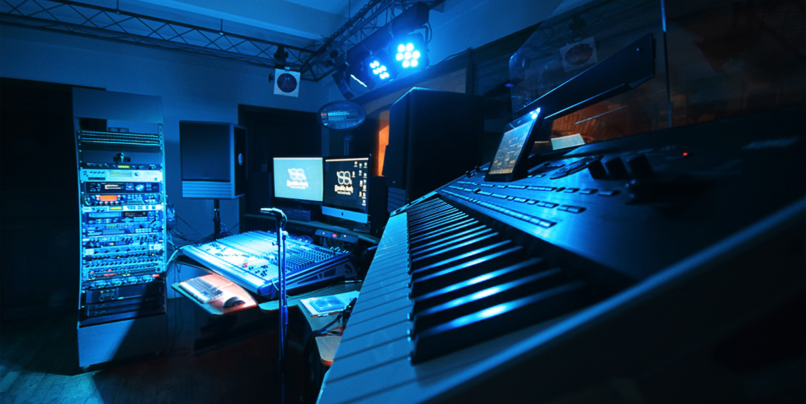 Double Arch:la sala musica